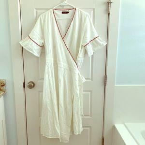 Rollee wrap dress!